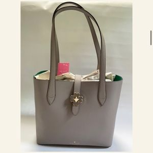 New Kate Spade Kaci Small Tote in Taupe